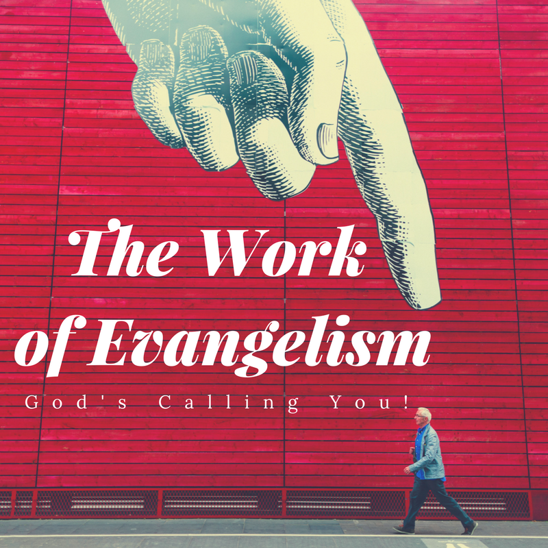 God wants to use you for evangelism. Pastor Vergil talks about our role in sharing the gospel.